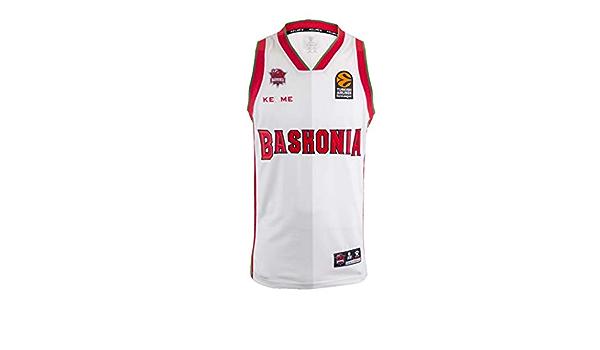 Baskonia Equipaci/ón Camiseta Entrenamiento Oficial Manga Corta 20//21 Unisex ni/ños