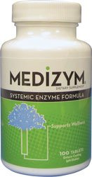 (Medizym Systemic Enzyme 100 tablets by Naturally Vitamins)