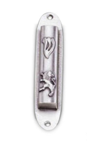 Rite Lite MZD-R6 Small Lion Pewter Mezuzah - 4 5 in : Amazon co uk