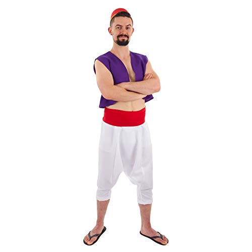 Men's Desert Prince Full Costume -