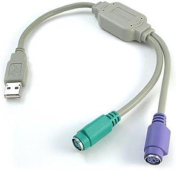 ICT Cable USB A PS2 para TECLADOS Y Ratones Antiguos
