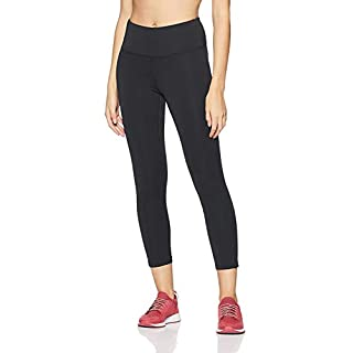New Balance Women's Core High Rise Crop Pant, Pigment, XS