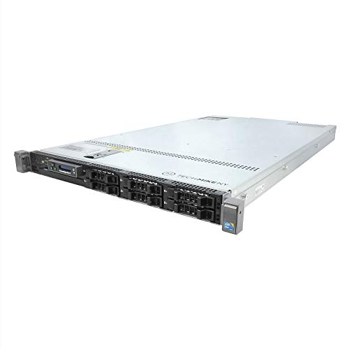 DELL PowerEdge R610 Server 2X 3.33Ghz X5680 6C 128GB 6X Caddies Premium (Renewed)