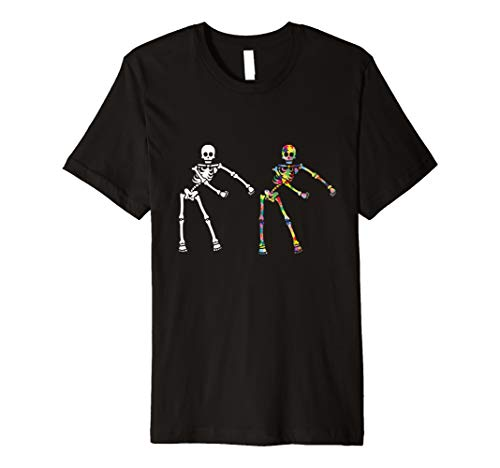 Autism Skeleton product Boys Teens Flossing Dabbing Dance...