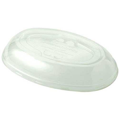 (32 oz Burrito Bowl Lid | Compostable Plastic | Biodegradable PLA | 300 Count)
