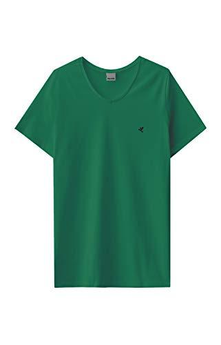 Camiseta Tradicional Bordado Malwee Masculino