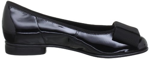 6510097 Gabor Black Patent donna Ballerine Shoes Nero Gabor 5Eq4x
