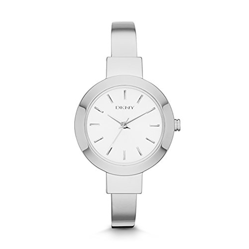 DKNY Women's 'Stanhope' Quartz Stainless Steel Casual Watch, Color:Silver-Toned (Model: NY2345)