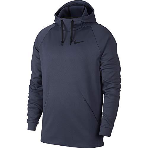 Nike Men's Thermal Training Hoodie, Thunder Blue/Black, X-Large -
