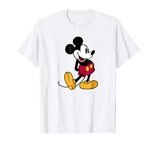 Disney Mickey Mouse Classic Pose T-Shirt]()