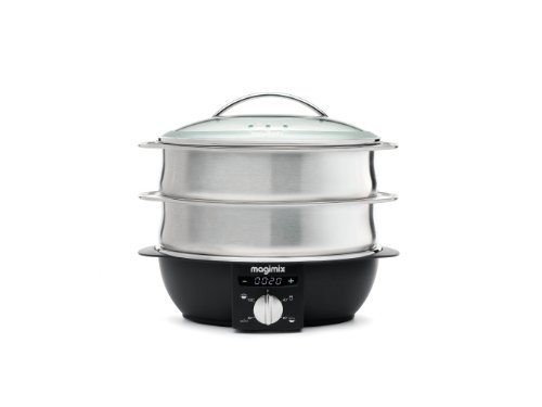 Magimix Multi-Functional Brushed Steamer