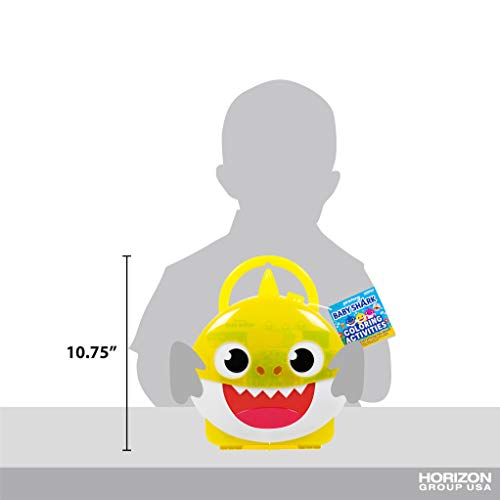 Baby Shark Coloring Case by Horizon Group USA Ultimate ...