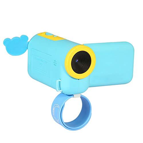 Winait - Cámara de vídeo Digital para niños con visualización TFT, Color Azul