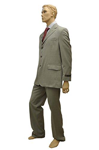 Blick Piana Tessuto Italiano di alta qualità da uomo tuta Abito Traje Blick Piana in Tessuto, misura 56