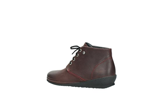nbsp;sacramento Chaussures À 07251 Confort Wolky Lacets Leather Oiled 50510 Burgundy xX1fUnqwn5
