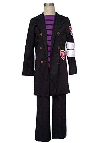 Belphegor Cosplay Costume (Mtxc Men's Katekyo Hitman Reborn Cosplay Belphegor 1st Size XXX-Large Black)
