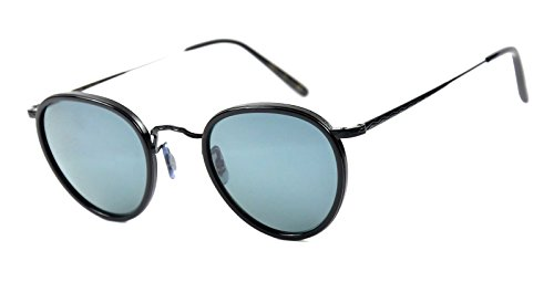 Oliver Peoples OV1104S MP2 Sun Black-Vintage glass Blue lenses - Mp2 Sunglasses