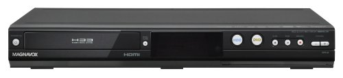 MAGNAVOX MDR513H/F7 HDD and DVD Recorder with Digital Tuner, Black (Old Version)
