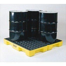 Eagle 1634 Modular Spill Pallet, 4 Drum Unit - No Drain Plug