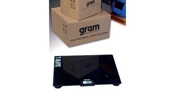 Báscula profesional pèse-colis polivalente de alta calidad 35 x 30 cm - Capacidad: 50 kg, Lectura A 20 G: Amazon.es: Oficina y papelería