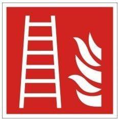 everglow Protección contra incendios Etiquetado, escalera de incendios: Amazon.es: Bricolaje y herramientas