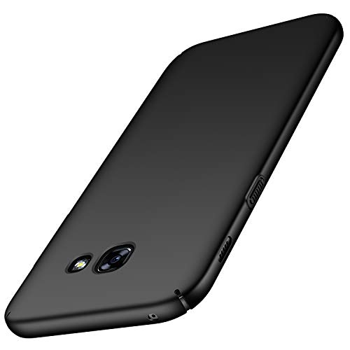 Avalri Samsung Galaxy A5 2017 Case, Ultra Thin Anti-Fingerprint and Minimalist Hard PC Cover for Galaxy A5 2017 (Silky Black)