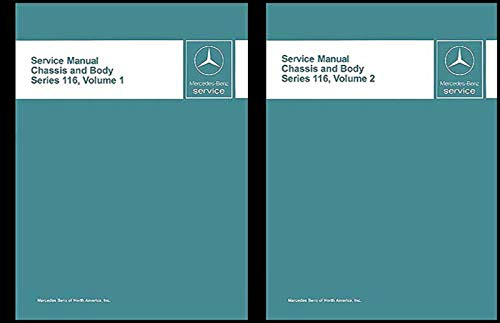 - 1973-1980 Mercedes 116 Chassis/Body Service Manual Reprint 280S/SE 300SD 450SE/SEL