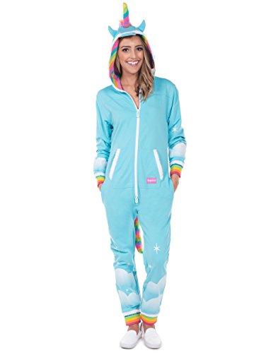 Women's Unicorn Onesie - Cute Comfy Adult Unicorn Jumpsuit: XX-Large - Werewolf Suit