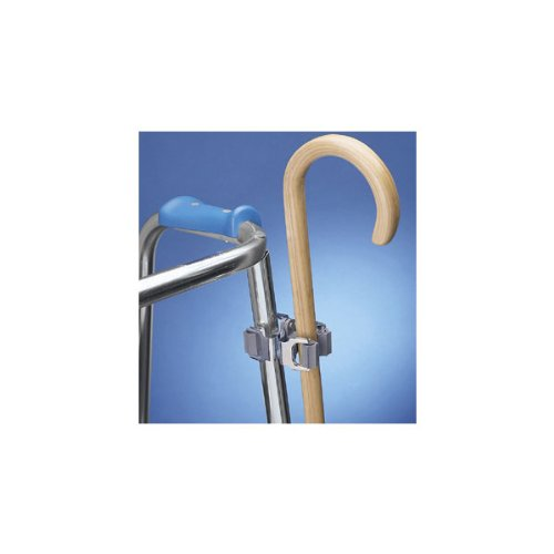 Ableware Cane Holder for Walkers and Wheelchairs