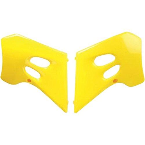 Ufo Yellow Radiator Shrouds Fits Suzuki Rm125 Rm250 (Ufo Suzuki Radiator)