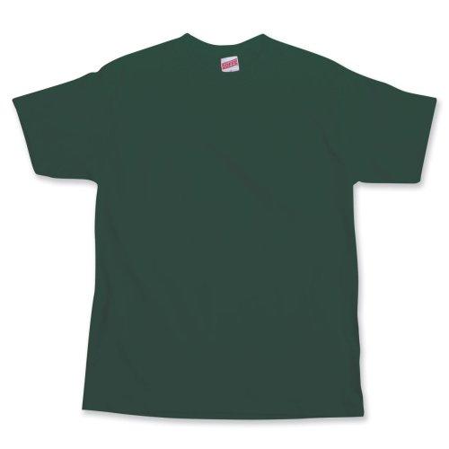 Soffe Big Boys' Short Sleeve T-Shirt,Dark Green,S (8)