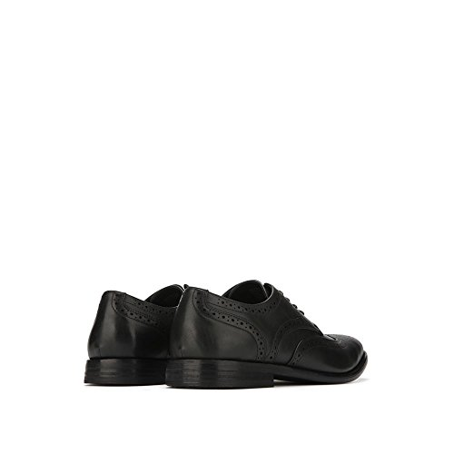 Unlisted, A Kenneth Cole Production Lace-Up Wing-Tip Shoe - Mens - Black