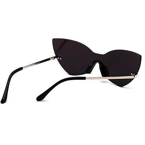 de Pieza protección Sola Color de Libre Personalidad UV de Mujeres Que de Gafas Vintage viaja Ojos conducen al Godbb de Mariposa Proteccion para Aire una Forma Que C6 C5 Tonos Moda Sol de Pqv8va