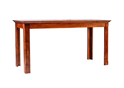 Forest Designs Traditional Alder Writing Table: 72W X 30H X 24D Merlot Oak by Forest Designs