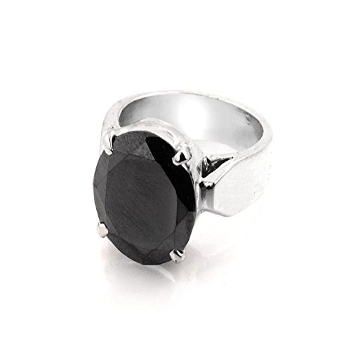 2.50 Carat Round Cut Black Diamond Certified Silver Ring AAA Quality by skyjewels