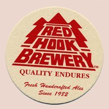 Redhook Ale Brewery Paperboard Coasters - Set of 8 - Two Eac