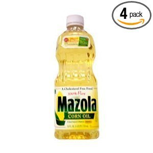 Mazola Corn Oil, 24-Ounce (Pack of 4)
