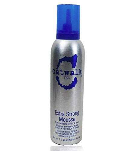 (Catwalk Extra Strong Mousse, Medim/Thick Hair 6.5 Oz byTIGI)