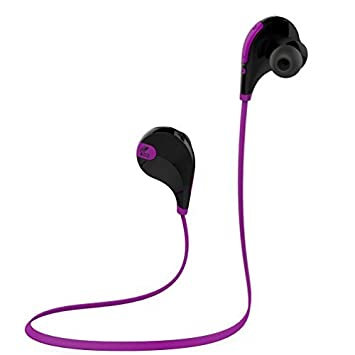 SoundPEATS Qy7 inalámbrica Bluetooth 4.1 deporte auriculares estéreo in-Ear con micrófono (negro/