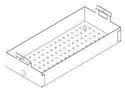 Instrument Tray (Large) for Pelton & Crane PCT143