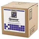 Quasar High Solids Floor Finish, Liquid, 5 gal. Box
