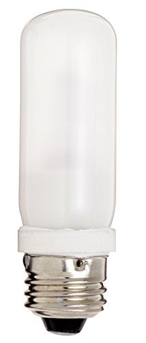 Satco 150T10Q/F Halogen Halogen Tubular Light, 150W E26 T10, Frosted Bulb [Pack of 6]