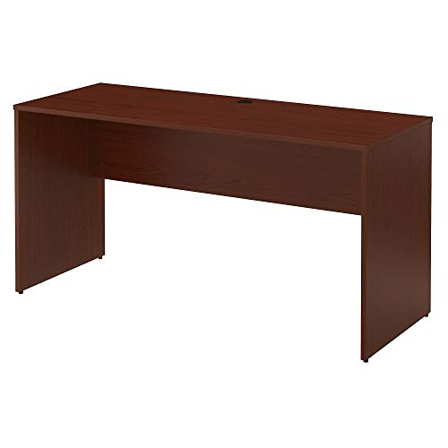 - Bush Furniture Commerce 60W Credenza Desk in Autumn Cherry