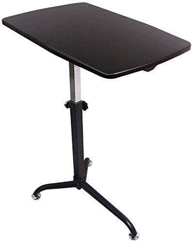 Fin lado de la mesa escritorio de la computadora portátil soporte ...