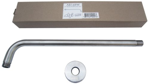 ALFI brand  AB16RW-BN 16-Inch Round Wall Mounted Shower Arm