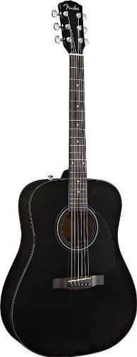 Fender Beginner Dreadnought Acoustic Guitar CD-60 All Mahogany - With Case