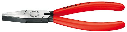 Knipex 2001160 Flat Nose Pliers, 6.25 Inch