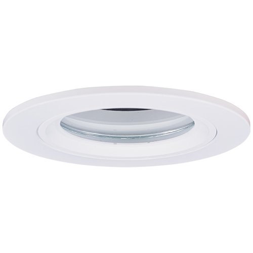 """Elco Lighting EL2613W 3"""" Diecast Shower Trim with Clear Glass Lens"""