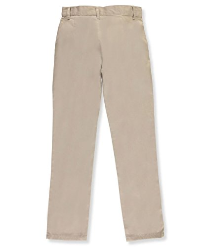 U.S. Polo Assn. Big Girls' Twill Pant (More Styles Available), Khaki-YHKD, ()