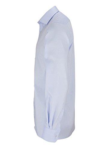 Eterna Long Sleeve Shirt Modern Fit Pinpoint Uni